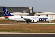 LOT Polish Airlines Boeing 737-89P (SP-LWC) at  Luqa - Malta International, Malta