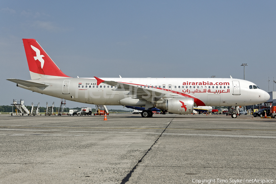 Air Arabia Egypt Airbus A320-214 (SU-AAD) | Photo 254753
