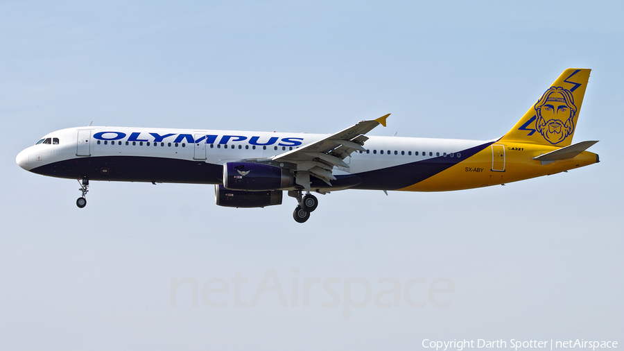 Olympus Airways Airbus A321-231 (SX-ABY) | Photo 263186