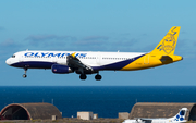 Olympus Airways Airbus A321-231 (SX-ABY) at  Gran Canaria, Spain