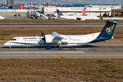 Olympic Airlines Bombardier DHC-8-402Q (SX-OBF) at  Istanbul - Ataturk, Turkey