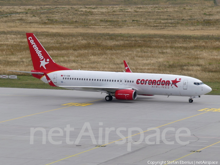 Corendon Airlines Boeing 737-86J (TC-COE) | Photo 343990