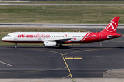 AtlasGlobal Airbus A321-131 (TC-ETM) at  Dusseldorf - International, Germany