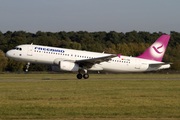 Freebird Airlines Airbus A320-232 (TC-FBR) at  Hannover - Langenhagen, Germany