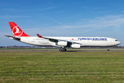 Turkish Airlines Airbus A340-311 (TC-JDM) at  Amsterdam - Schiphol, Netherlands