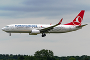 Turkish Airlines Boeing 737-8F2 (TC-JFL) at  Hamburg - Fuhlsbuettel (Helmut Schmidt), Germany