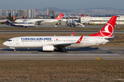 Turkish Airlines Boeing 737-8F2 (TC-JHB) at  Istanbul - Ataturk, Turkey