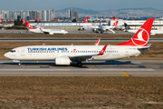 Turkish Airlines Boeing 737-8F2 (TC-JHN) at  Istanbul - Ataturk, Turkey