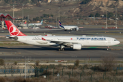 Turkish Airlines Airbus A330-303 (TC-JOI) at  Madrid - Barajas, Spain