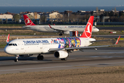 Turkish Airlines Airbus A321-231 (TC-JSU) at  Istanbul - Ataturk, Turkey