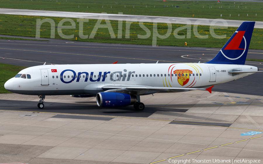 Onur Air Airbus A320-232 (TC-OBS) | Photo 418786