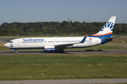 SunExpress Boeing 737-8K5 (TC-SNY) at  Hamburg - Fuhlsbuettel (Helmut Schmidt), Germany