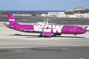 WOW Air Airbus A321-211 (TF-SON) at  Gran Canaria, Spain