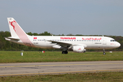 Tunisair Airbus A320-214 (TS-IMV) at  Nantes/Bougenais - Atlantique, France