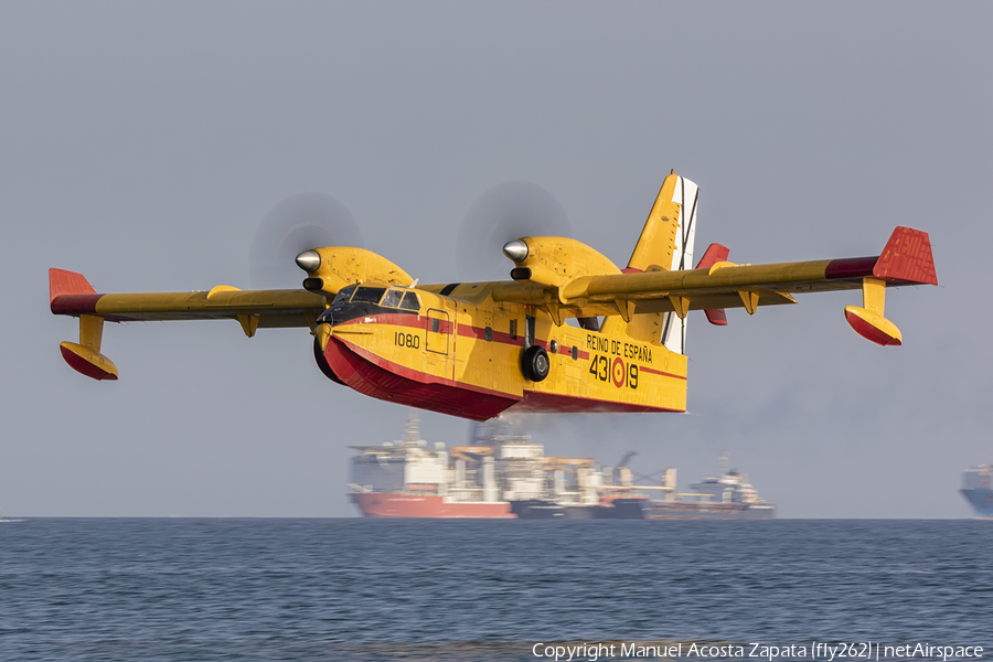 Spanish Air Force Canadair CL-215T (UD.13-19) | Photo 414809