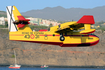 Spanish Air Force Canadair CL-415 (UD.14-01) at  Puerto Tazacorte, Spain