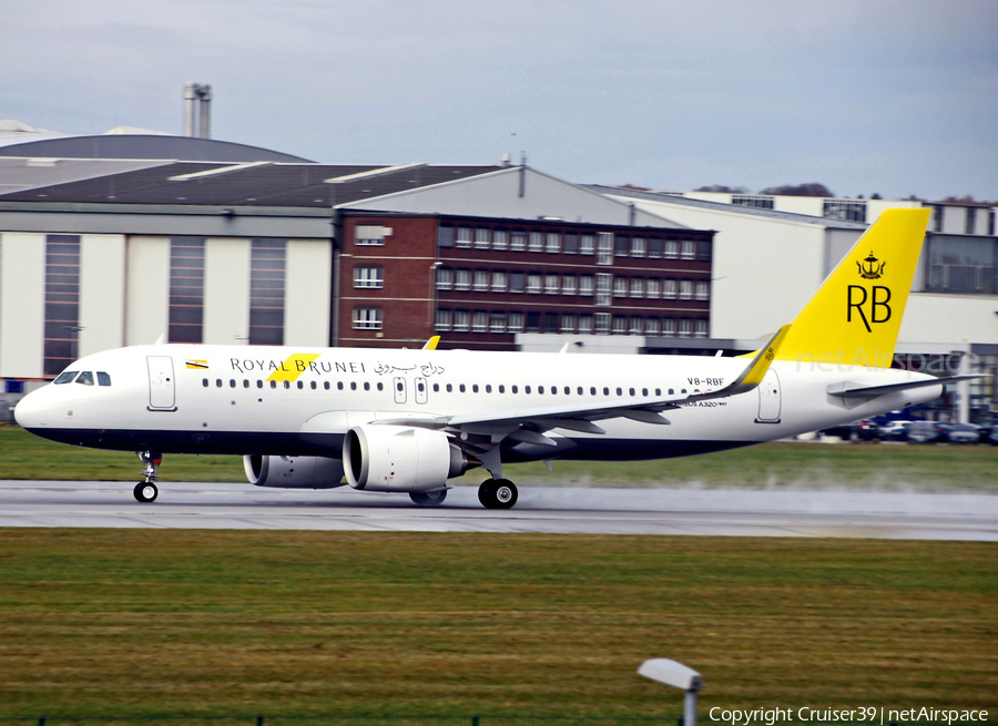 Royal Brunei Airlines Airbus A320-251N (V8-RBF) | Photo 319489