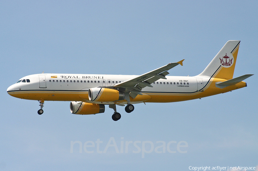 Royal Brunei Airlines Airbus A320-232 (V8-RBT) | Photo 367047