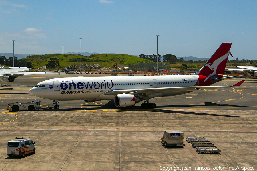 Qantas Airbus A330-202 (VH-EBV) | Photo 135288