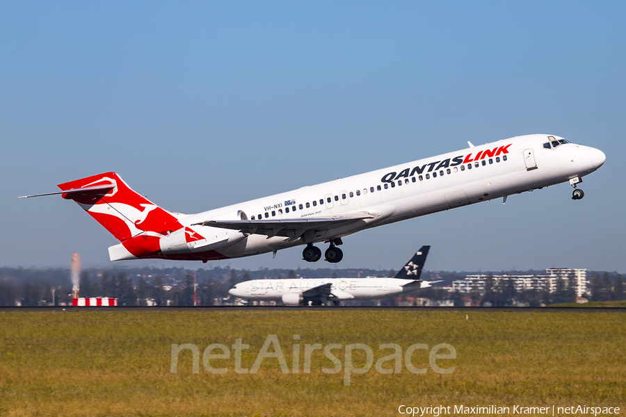 QantasLink (Cobham Aviation) Boeing 717-2K9 (VH-NXI) | Photo 390399