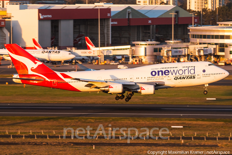 Qantas Boeing 747-438(ER) (VH-OEF) | Photo 389890