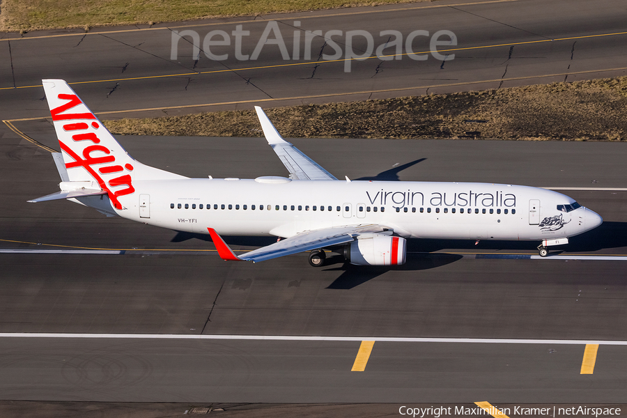 Virgin Australia Boeing 737-8FE (VH-YFI) | Photo 390275