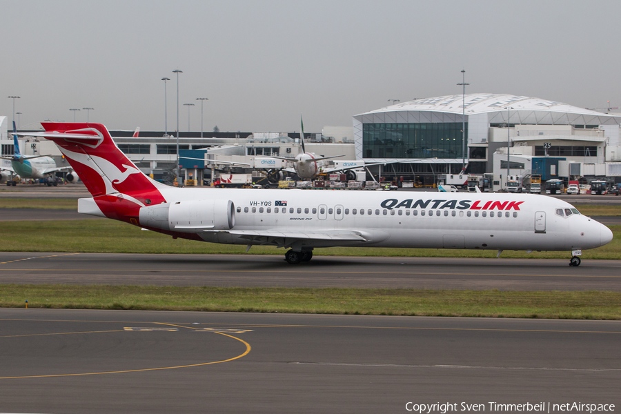 QantasLink (Cobham Aviation) Boeing 717-2BL (VH-YQS) | Photo 284231