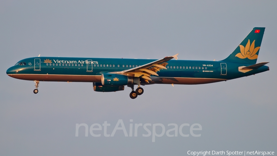 Vietnam Airlines Airbus A321-231 (VN-A334) | Photo 205667
