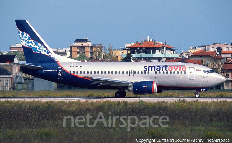 SmartAvia Boeing 737-5Y0 (VP-BQL) | Photo 399887