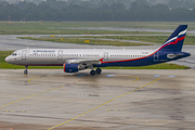 Aeroflot - Russian Airlines Airbus A321-211 (VP-BQX) at  Dusseldorf - International, Germany