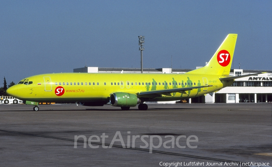 S7 Airlines Boeing 737-42C (VP-BTH) | Photo 409538