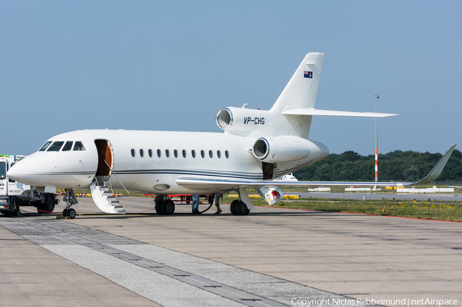 (Private) Dassault Falcon 900LX (VP-CHG) | Photo 254521
