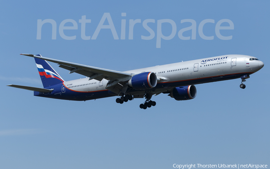 Aeroflot - Russian Airlines Boeing 777-3M0(ER) (VQ-BQB) | Photo 376495