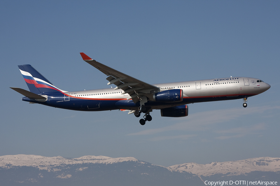 Aeroflot - Russian Airlines Airbus A330-343X (VQ-BQY) | Photo 376332