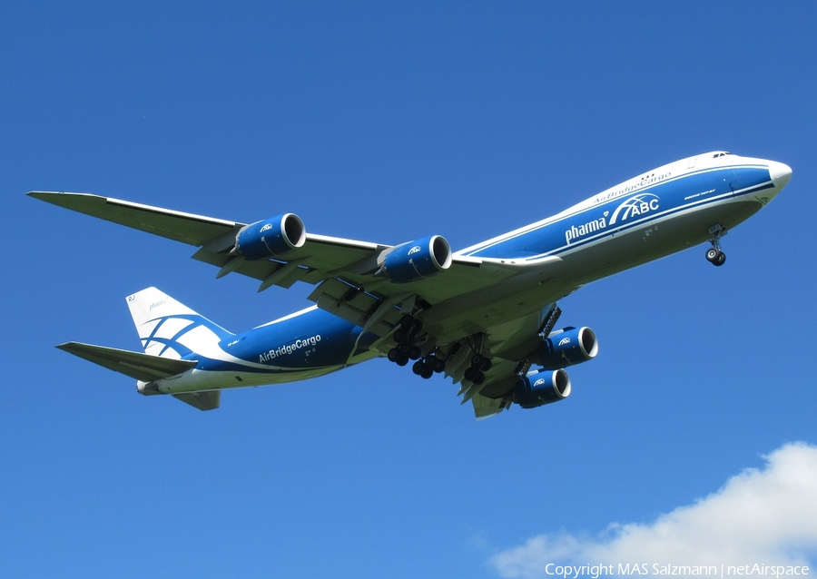 AirBridge Cargo Boeing 747-8HVF (VQ-BRJ) | Photo 401080