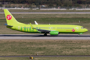 S7 Airlines Boeing 737-8LP (VQ-BRR) at  Dusseldorf - International, Germany