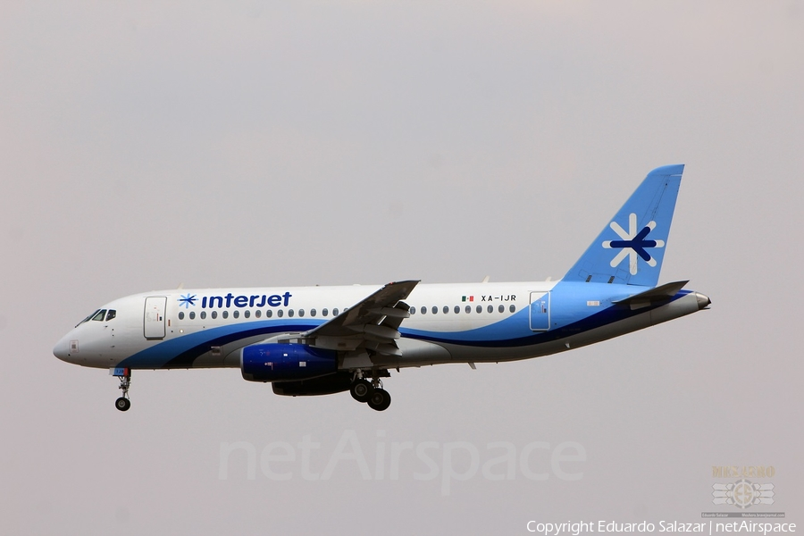Interjet Sukhoi Superjet 100-95 (XA-IJR) | Photo 290509