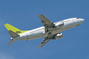 airBaltic Boeing 737-505 (YL-BBA) at  Munich, Germany