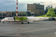 airBaltic Bombardier DHC-8-402Q (YL-BBV) at  Riga - International, Latvia