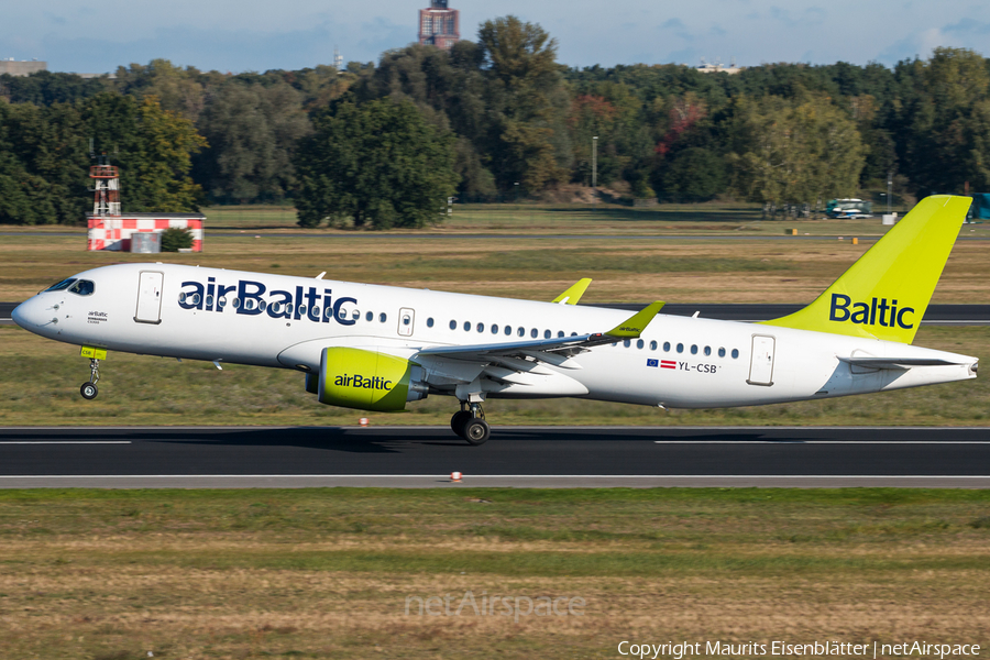 airBaltic Airbus A220-300 (YL-CSB) | Photo 189472