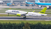 airBaltic Airbus A220-300 (YL-CSF) at  Amsterdam - Schiphol, Netherlands