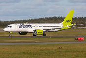 airBaltic Airbus A220-300 (YL-CSF) at  Billund, Denmark