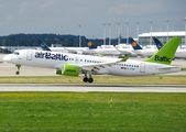 airBaltic Airbus A220-300 (YL-CSM) at  Munich, Germany