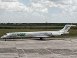 Laser Airlines McDonnell Douglas MD-82 (YV3367) at  Santo Domingo - Las Americas-JFPG International, Dominican Republic
