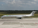Laser Airlines McDonnell Douglas MD-83 (YV3465) at  Santo Domingo - Las Americas-JFPG International, Dominican Republic