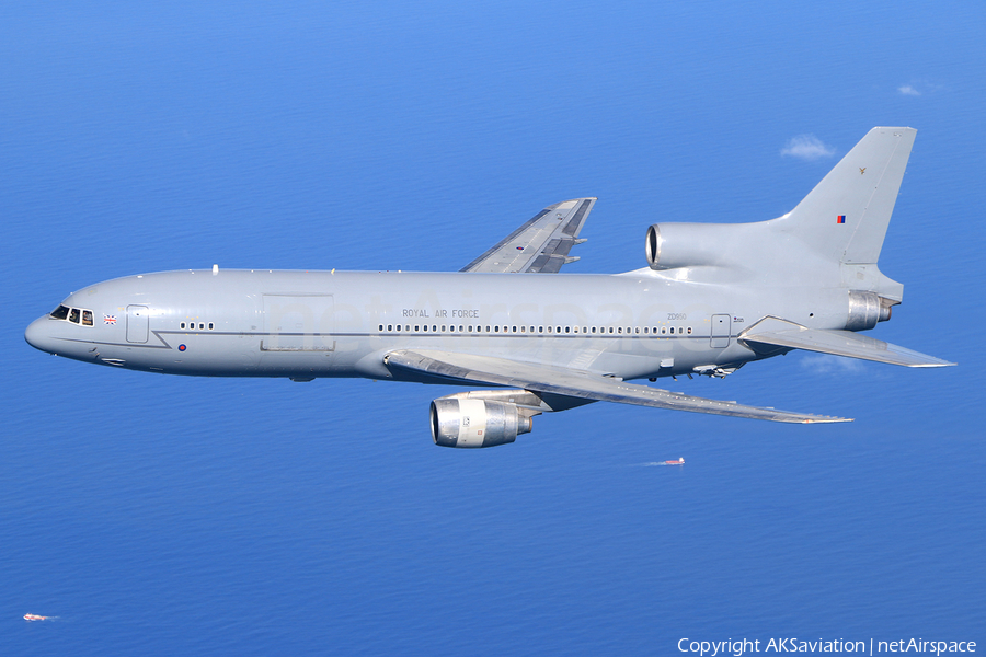 Royal Air Force Lockheed L-1011-385-3 KC1 Tristar 500 (ZD950) | Photo 132244