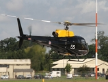 Royal Air Force Eurocopter AS350BB Squirrel HT2 (ZJ255) at  RAF Fairford, United Kingdom