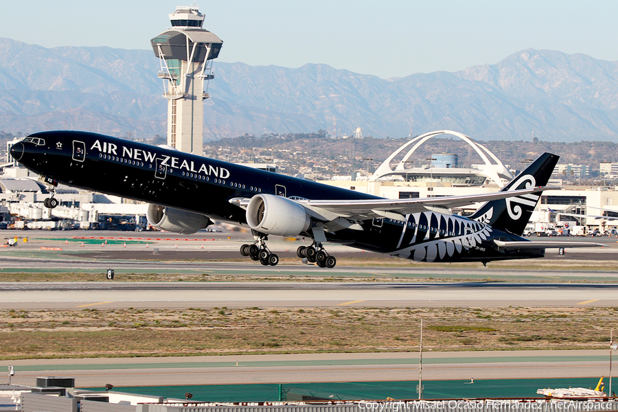 Air New Zealand Boeing 777-319(ER) (ZK-OKQ) | Photo 220151