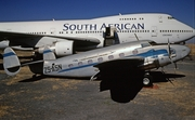 South African Airways Lockheed L-18-08 Lodestar (ZS-ASN) at  Rand, South Africa