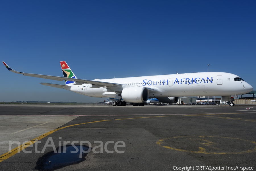 South African Airways Airbus A350-941 (ZS-SDF) | Photo 363984